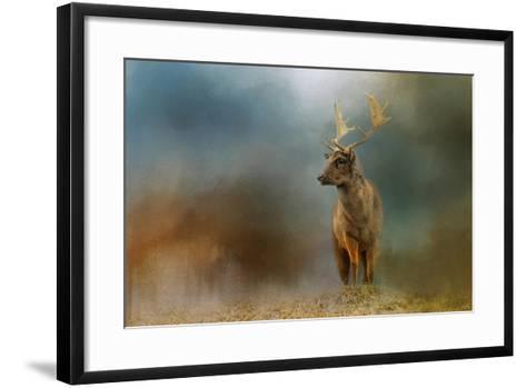 Painterly Fallow Buck-Jai Johnson-Framed Art Print