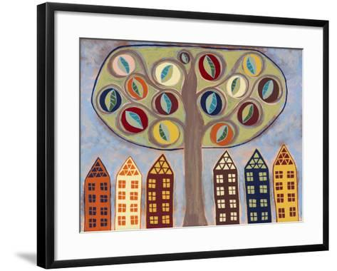 Partition-Kerri Ambrosino-Framed Art Print