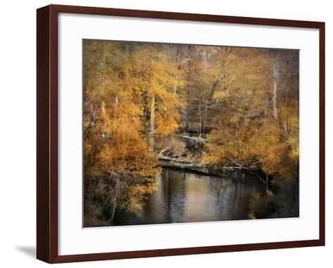 Golden Blessings-Jai Johnson-Framed Art Print