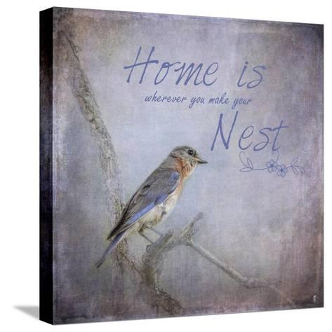 Home Is Wherever You Make Your Nest-Jai Johnson-Stretched Canvas Print