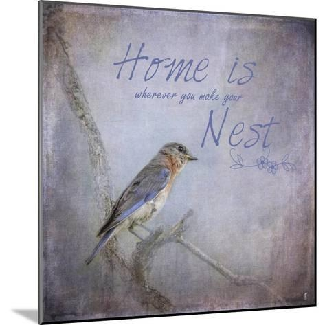 Home Is Wherever You Make Your Nest-Jai Johnson-Mounted Giclee Print