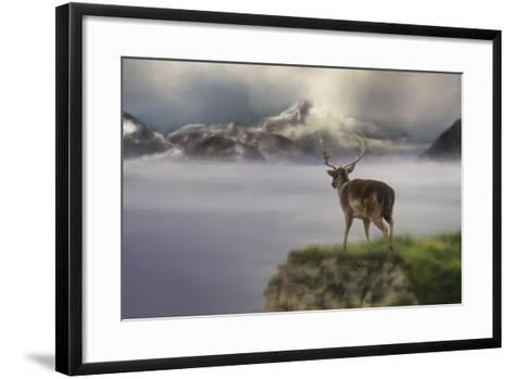 Mountains Out of Reach-Jai Johnson-Framed Art Print