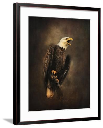 Crying for the Lost Bald Eagle-Jai Johnson-Framed Art Print
