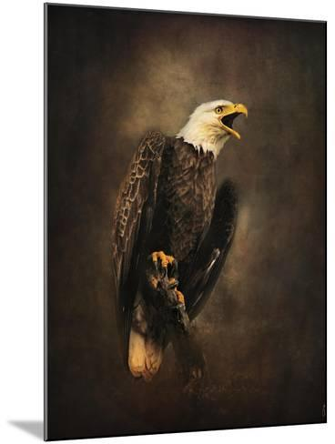 Crying for the Lost Bald Eagle-Jai Johnson-Mounted Giclee Print