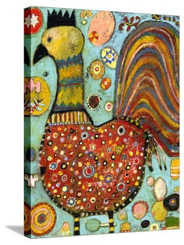 Blubs the Chicken-Jill Mayberg-Stretched Canvas Print