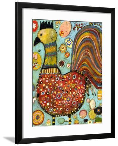 Blubs the Chicken-Jill Mayberg-Framed Art Print