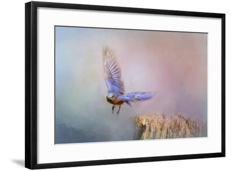 Bluebird Escape-Jai Johnson-Framed Art Print