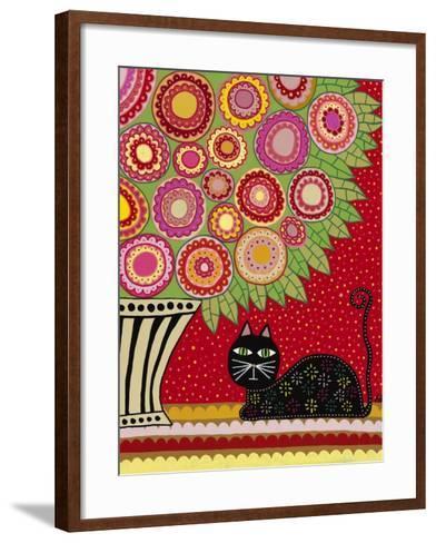 Feline Florist 1-Kerri Ambrosino-Framed Art Print