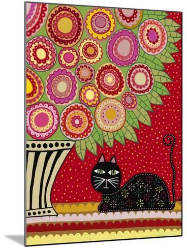 Feline Florist 1-Kerri Ambrosino-Mounted Giclee Print