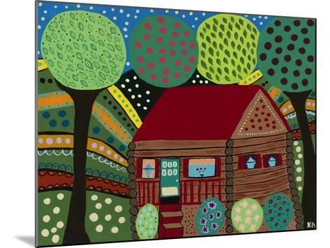 House in the Hills-Kerri Ambrosino-Mounted Giclee Print