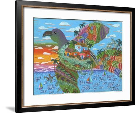 In Flight-Debra Denise Purcell-Framed Art Print