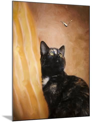 Kitten and the Butterfly-Jai Johnson-Mounted Giclee Print