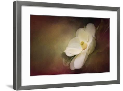Magnolia in Bloom 1-Jai Johnson-Framed Art Print