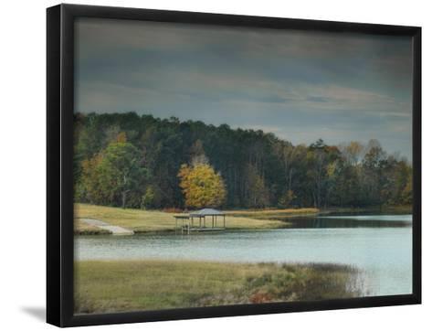 November Dock-Jai Johnson-Framed Art Print