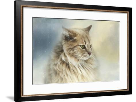 Watching Snow Fall-Jai Johnson-Framed Art Print