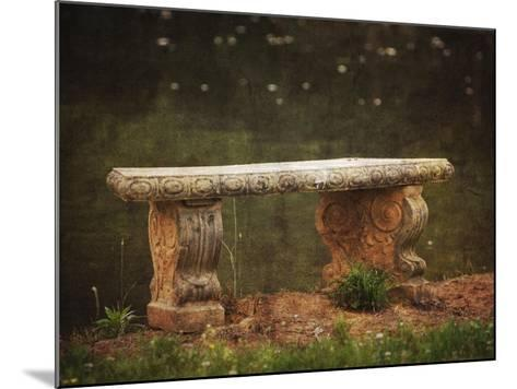 Waterside Bench-Jai Johnson-Mounted Giclee Print