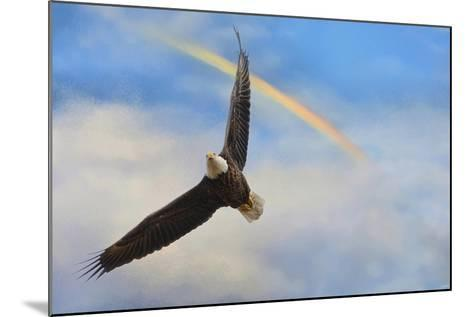 When My Wings Touch the Rainbow-Jai Johnson-Mounted Giclee Print