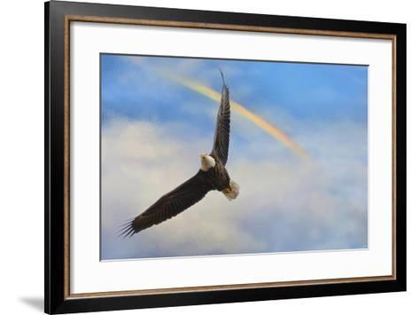 When My Wings Touch the Rainbow-Jai Johnson-Framed Art Print