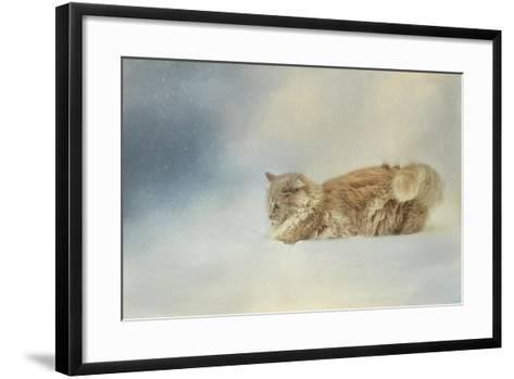 Snow Diving-Jai Johnson-Framed Art Print