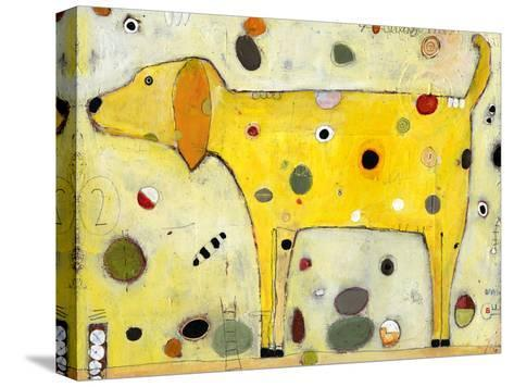 Yellow-Jill Mayberg-Stretched Canvas Print