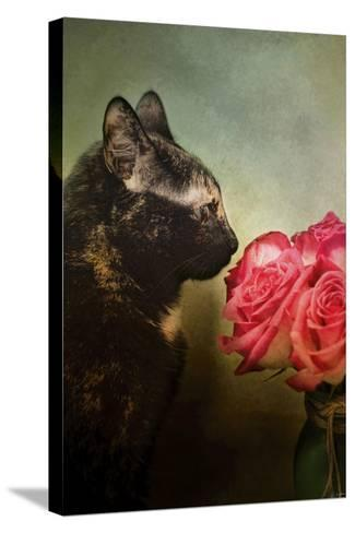 Stop and Smell the Flowers-Jai Johnson-Stretched Canvas Print