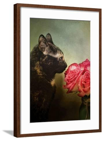 Stop and Smell the Flowers-Jai Johnson-Framed Art Print