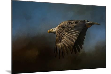 Storm Chaser Bald Eagle-Jai Johnson-Mounted Giclee Print