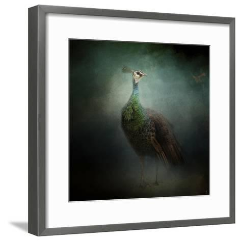 Peacock 2-Jai Johnson-Framed Art Print