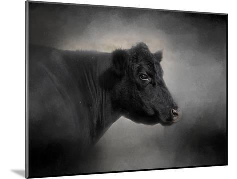 Portrait of the Black Angus-Jai Johnson-Mounted Giclee Print