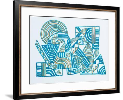 Abstract Illustration-fify-Framed Art Print