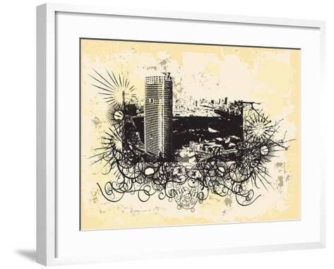 Tokyo-JENNY SOLOMON-Framed Art Print