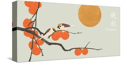 Full Autumn-sooyo-Stretched Canvas Print