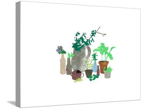 Plants-sooyo-Stretched Canvas Print