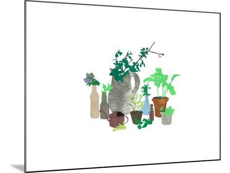 Plants-sooyo-Mounted Art Print