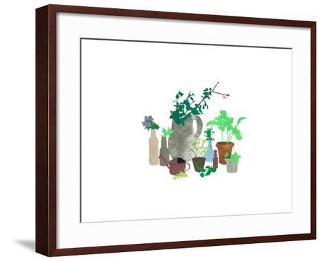Plants-sooyo-Framed Art Print