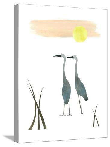Birds in the Sun-sooyo-Stretched Canvas Print