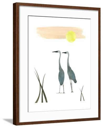 Birds in the Sun-sooyo-Framed Art Print