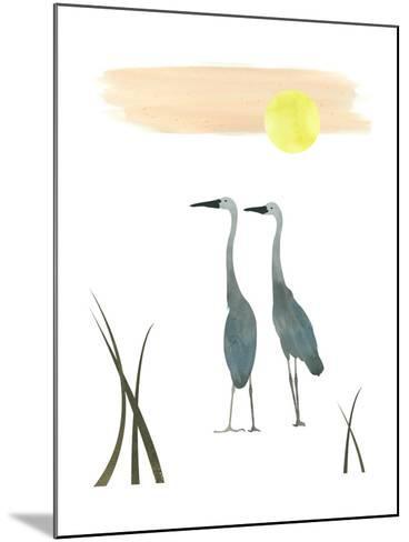 Birds in the Sun-sooyo-Mounted Art Print
