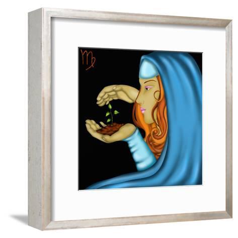 Segni Zodiacali - Vergine-goccedicolore-Framed Art Print