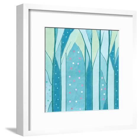 Background of Trees,, Vintage-vipa21-Framed Art Print