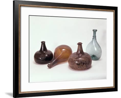 Collection of Wine Bottles--Framed Art Print