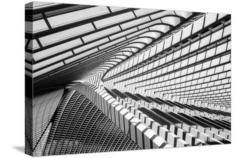 Lines in Liege-Jeroen Van-Stretched Canvas Print