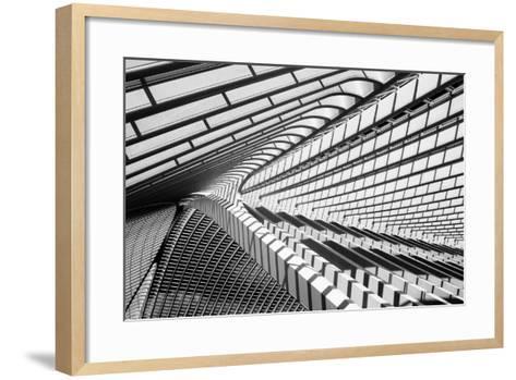 Lines in Liege-Jeroen Van-Framed Art Print