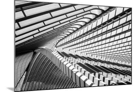 Lines in Liege-Jeroen Van-Mounted Photographic Print