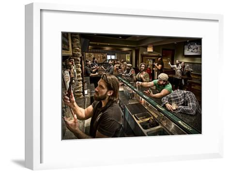 Happy Hour-Anthony Benussi-Framed Art Print