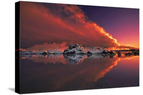 Ice and Fire-Thorsteinn H.-Stretched Canvas Print