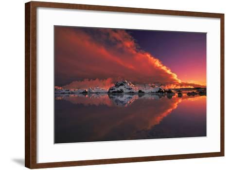 Ice and Fire-Thorsteinn H.-Framed Art Print