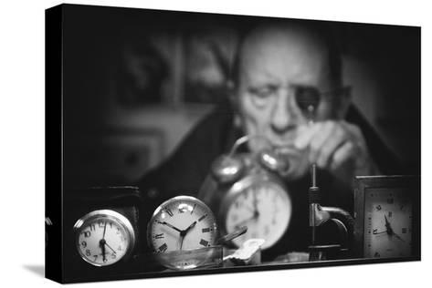 Search of the Perfect Time-Antonio Grambone-Stretched Canvas Print