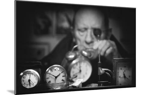 Search of the Perfect Time-Antonio Grambone-Mounted Photographic Print