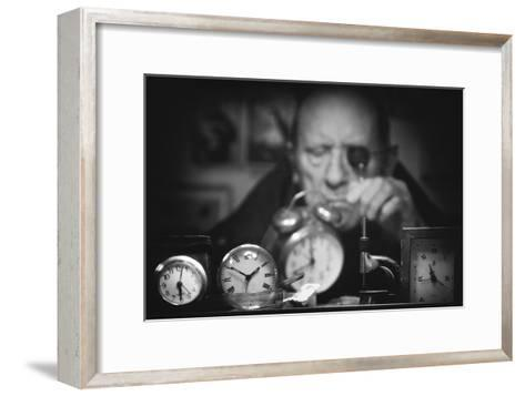 Search of the Perfect Time-Antonio Grambone-Framed Art Print